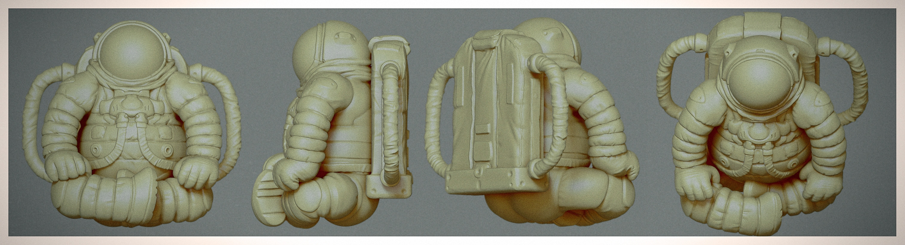 Rendered with ZBrush BPR