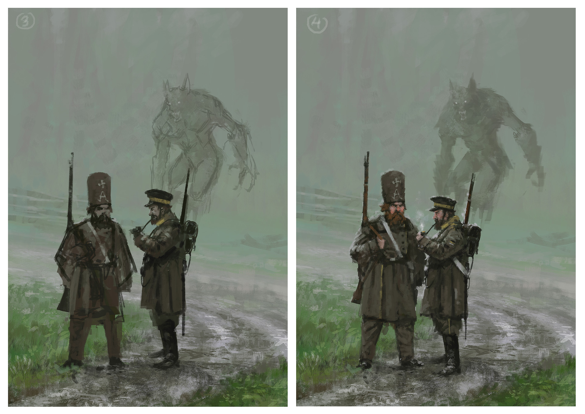 Jakub rozalski monday1863process02