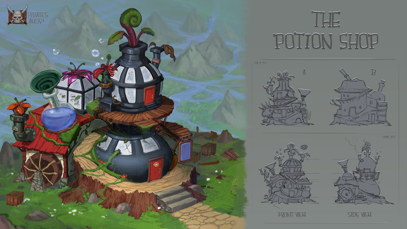Victor kallqvist building potion shop done