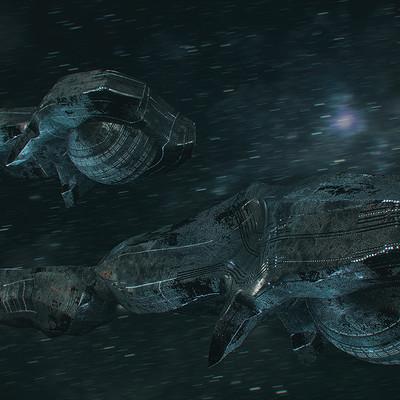 Kresimir jelusic 115 1 2 16 space ship x8