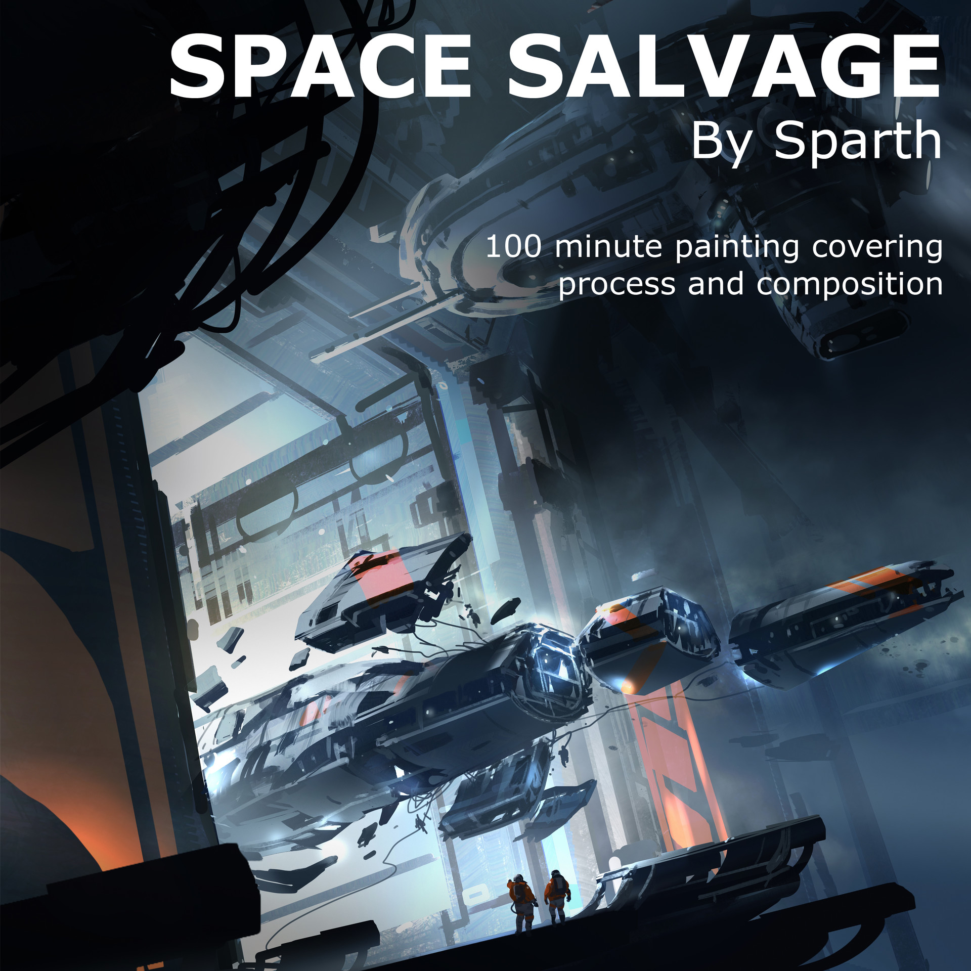 Sparth space salvage cover