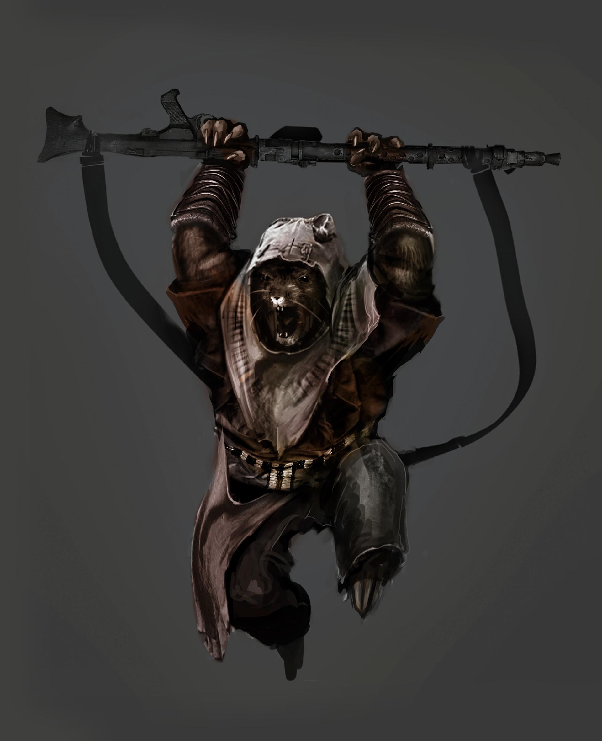 Theophile loaec star wars ewok champion by thomaslean d82wzvl