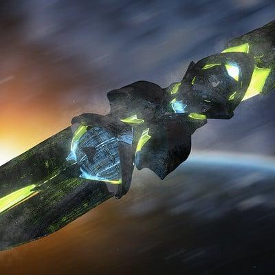 Kresimir jelusic 116 2 2 16 alien ship