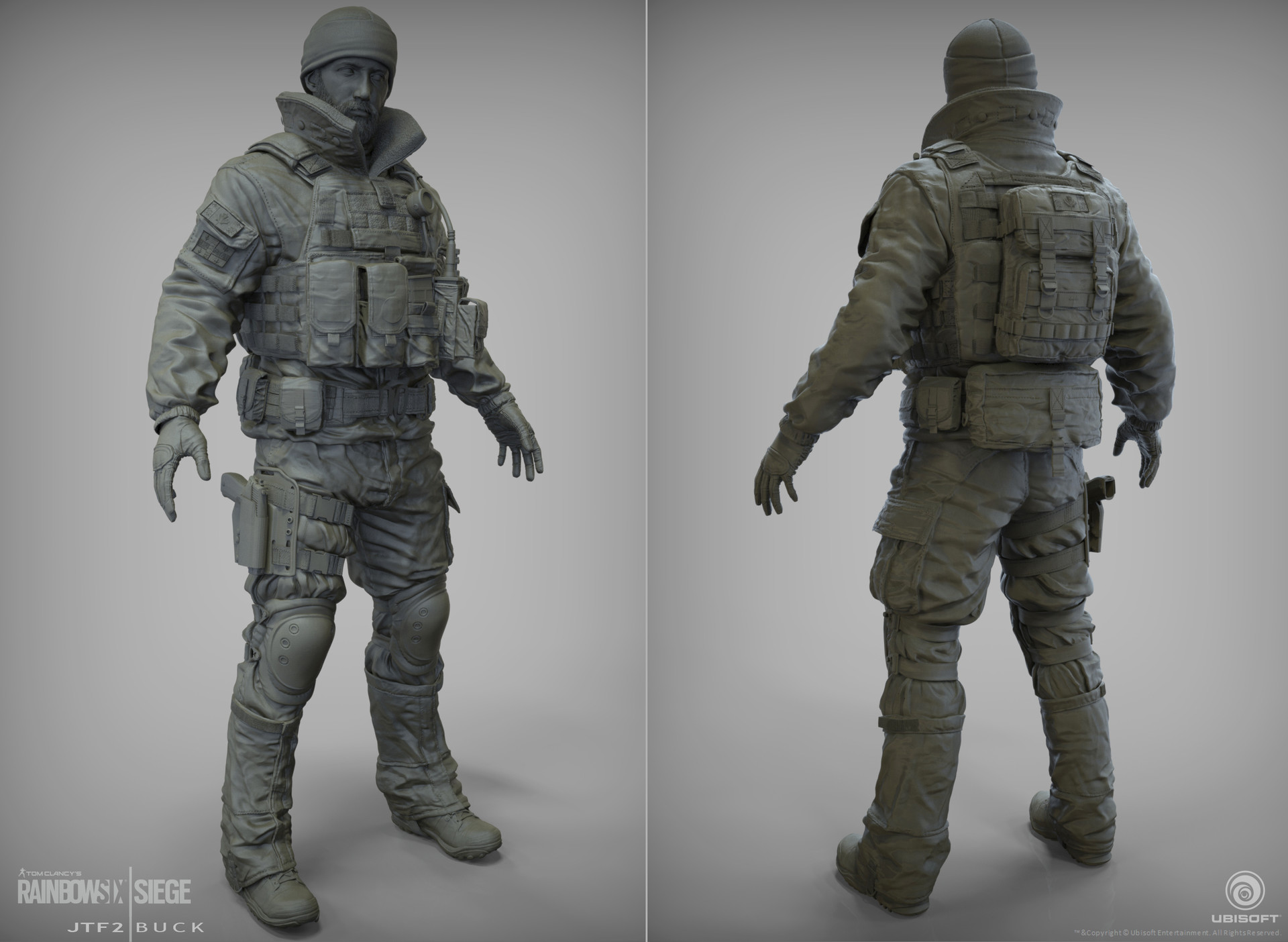 J mark jtf2 buck sculpt