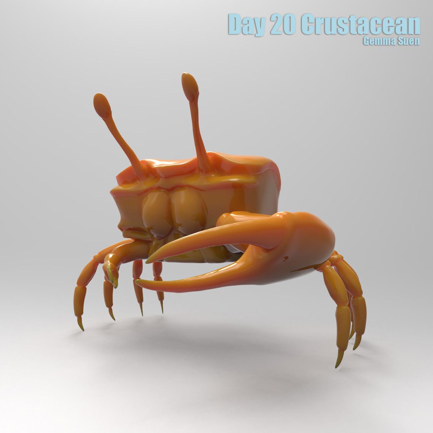 Gemma suen day20 crustacean