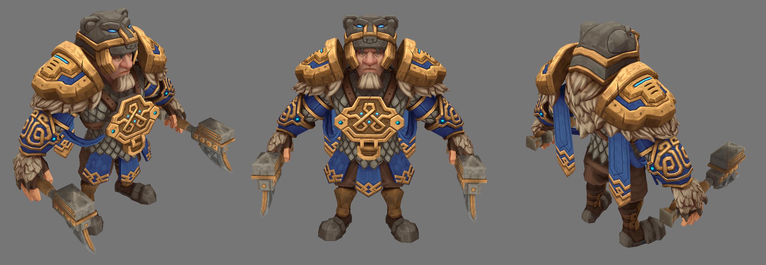 Warrior King turn around