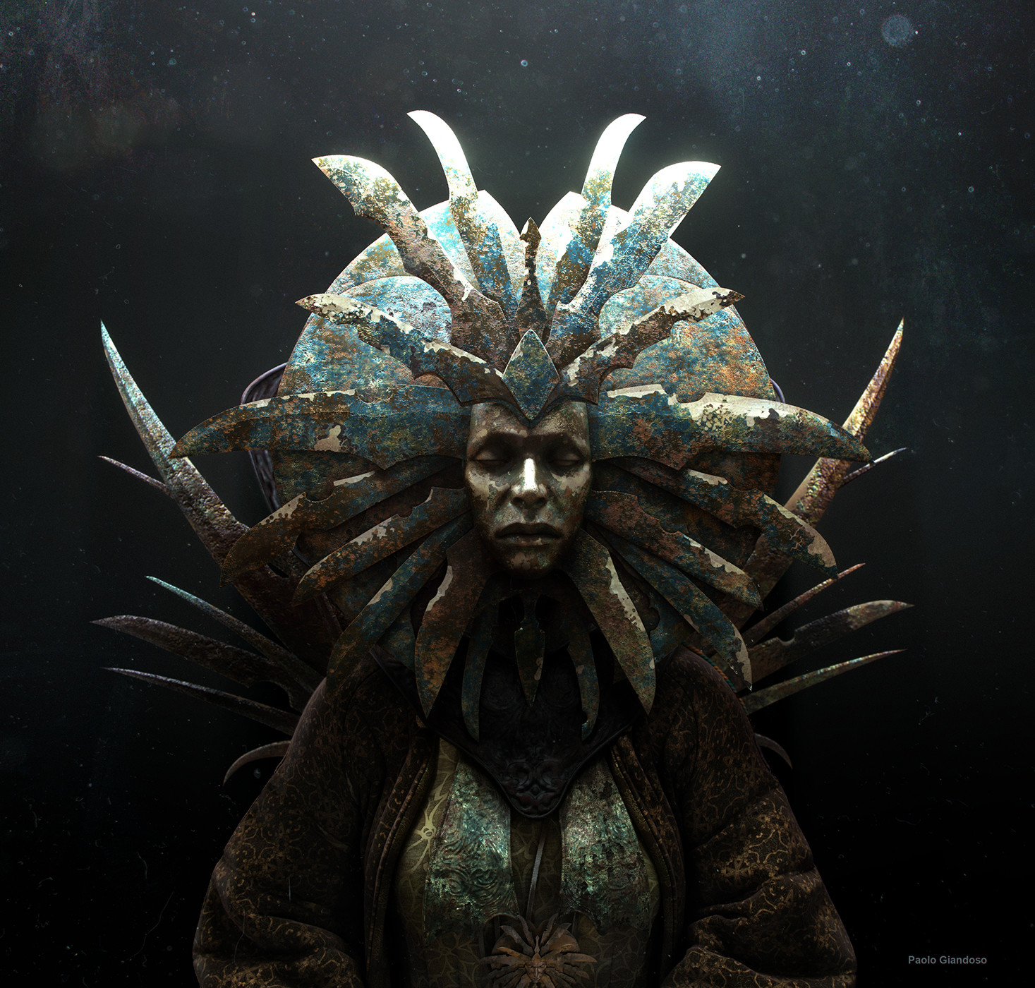 """""""That bladed witch! All high and mighty, mistress of all the city, floating and silent, she kills anyone in her shadow. She tends the city, aye... And leaves the living things in it ta """"rot""""."""" Hive Ward harlot."""
