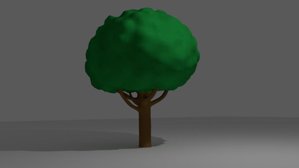 Peter buyken 19 cartoon tree
