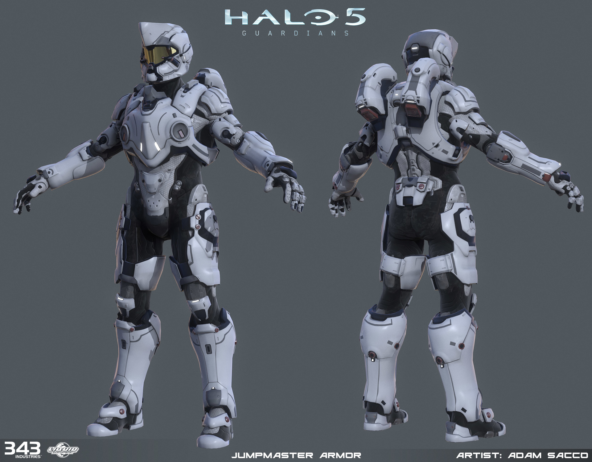 Halo 5 - Jumpmaster armor - 3d game model