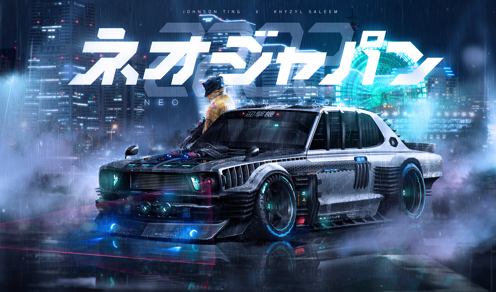 Neo Japan 2202 X Khyzyl Saleem - The interceptor