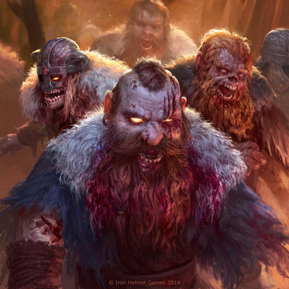 zombie dwarf horde