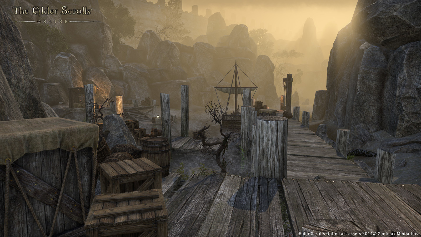 World building alpha pocket created for Elder Scrolls Online. All scene building and lighting done by myself. Asset creation included myself and multiple team members.