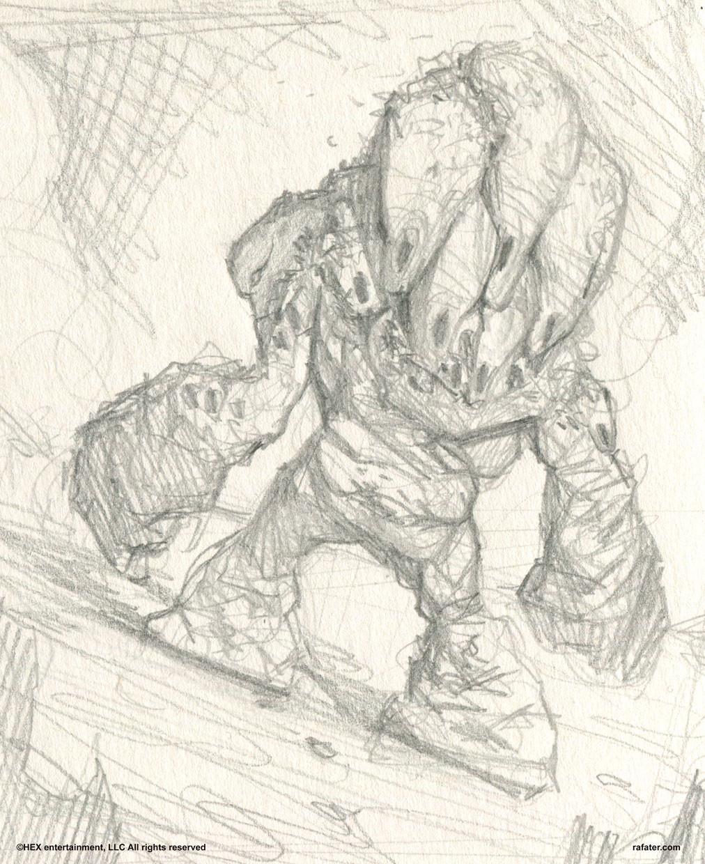 Rafael teruel hex 02 walking hive 01 sketch by rafater