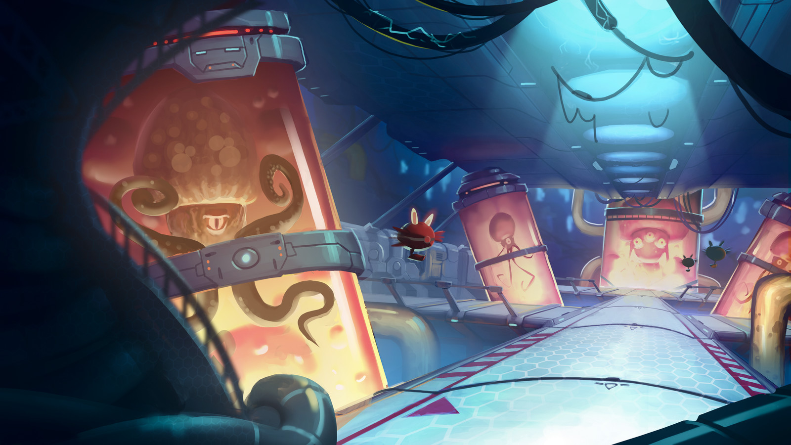 Awesomenauts 'Ai station 404'