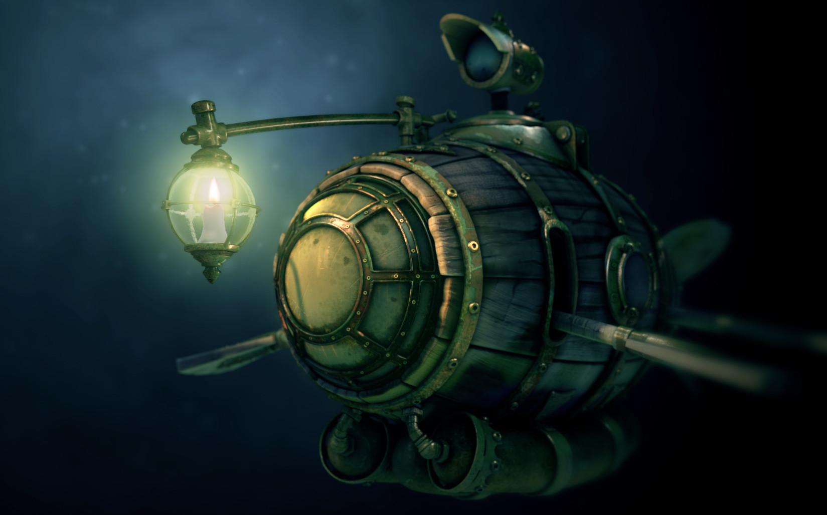 ArtStation - Submarine, Peer Draeger