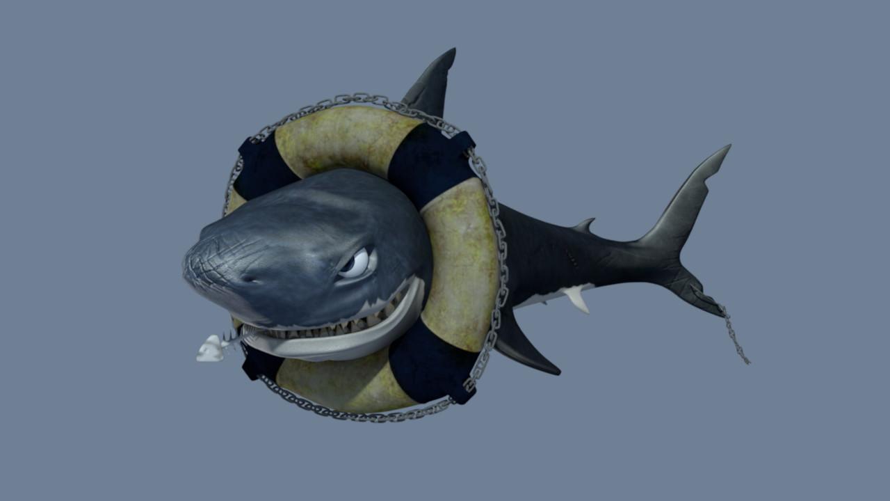Kevin gille requins mechant 0300