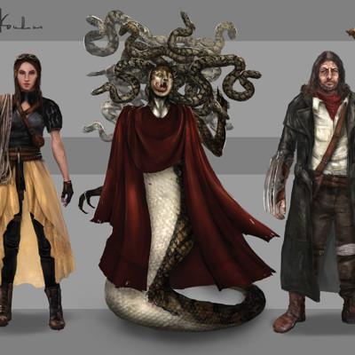Irina kovalova creatures and characters
