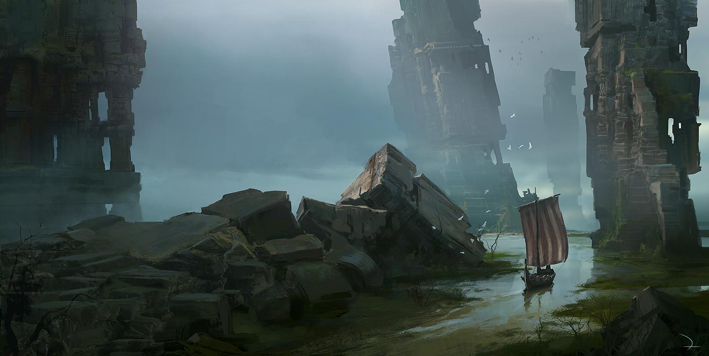 Martin deschambault viking ruins www