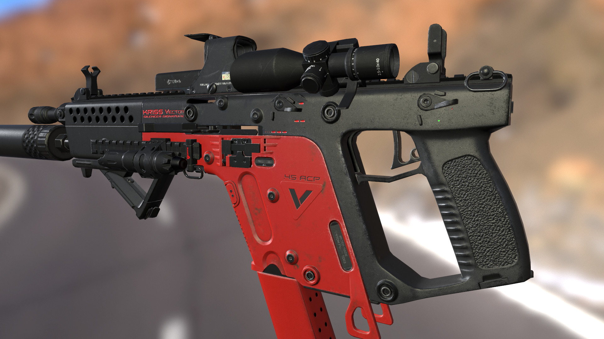 artstation custom kriss vector updated max 2211