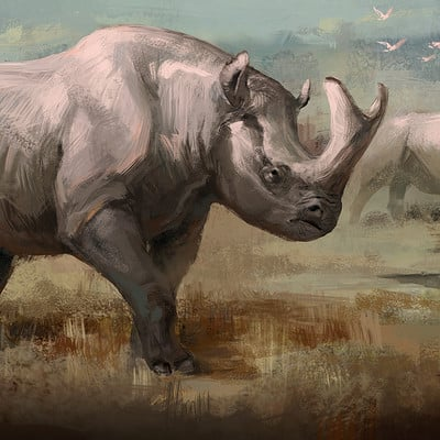 Jonathan kuo brontotherium low