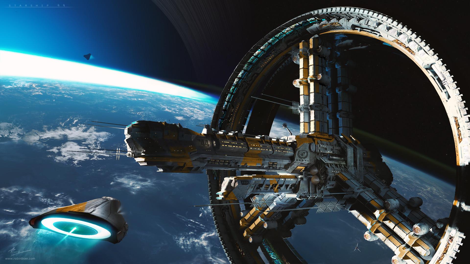 artstation starship 44 beryl robin boer