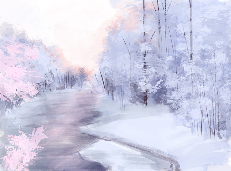 Winter speedpaint