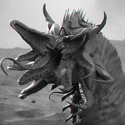 Andre castro sand creature3