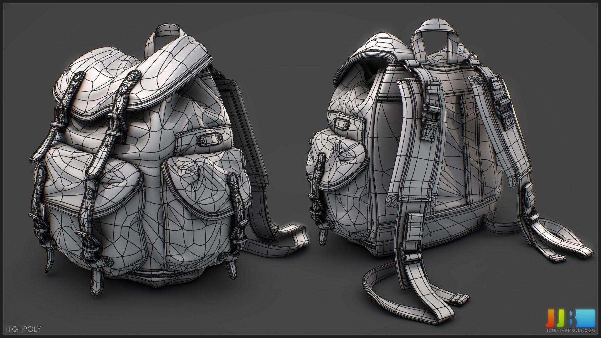 ArtStation - JJ Bigley | Backpack, Media Arts and Animation