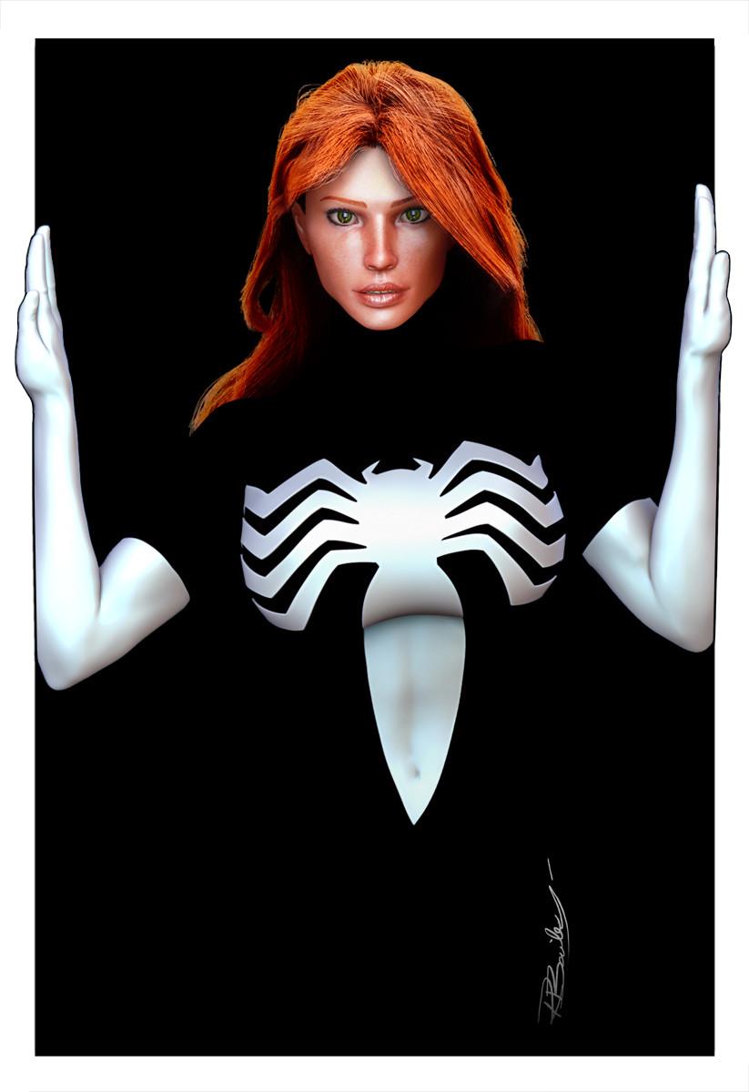 Spider-Woman Black suit