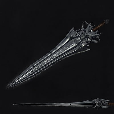 Aris dragonis epic sword 3d model by dragonisaris d6l3yp7