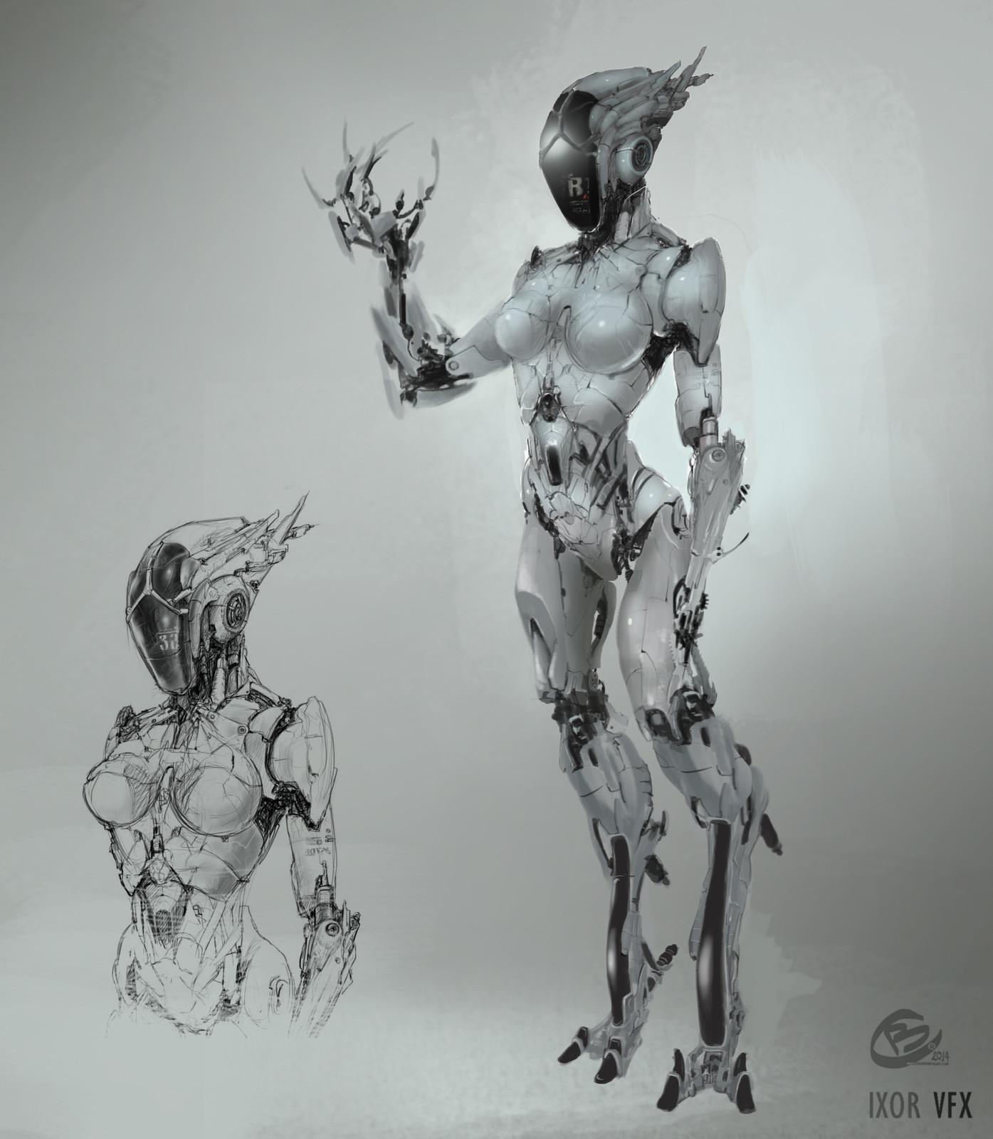 Cyborg - Female Robot