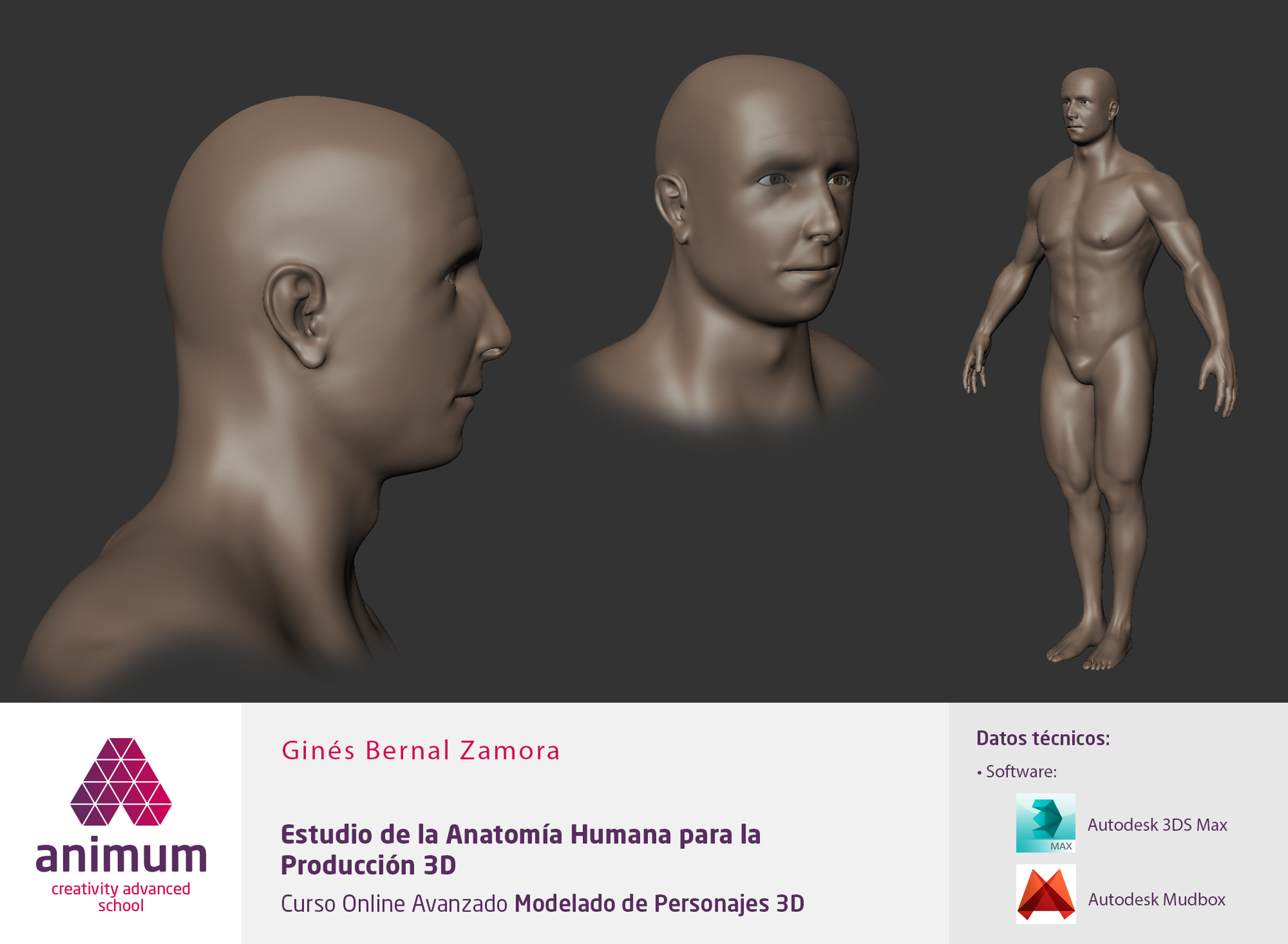 ArtStation - Study of human anatomy., Tito Bernal