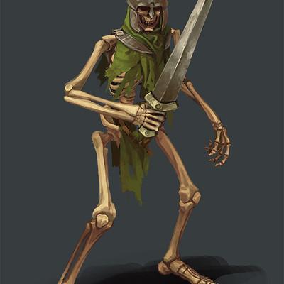 Greeme doe 005 skeletone