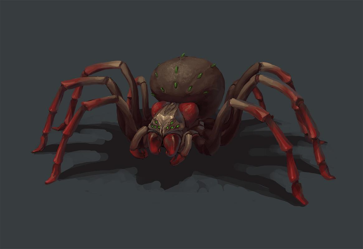 Greeme doe 009 gaint spider