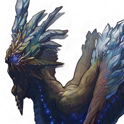 Edin durmisevic cristal dragon color