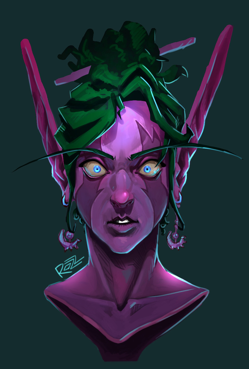 Night Elf -female