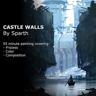 Sparth castle walls