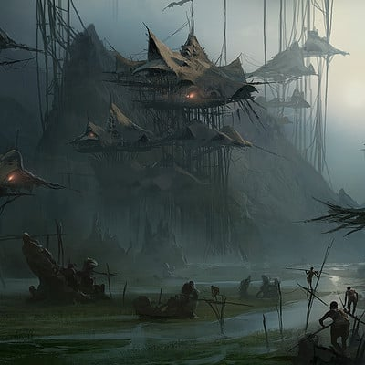 Martin deschambault swamp village www
