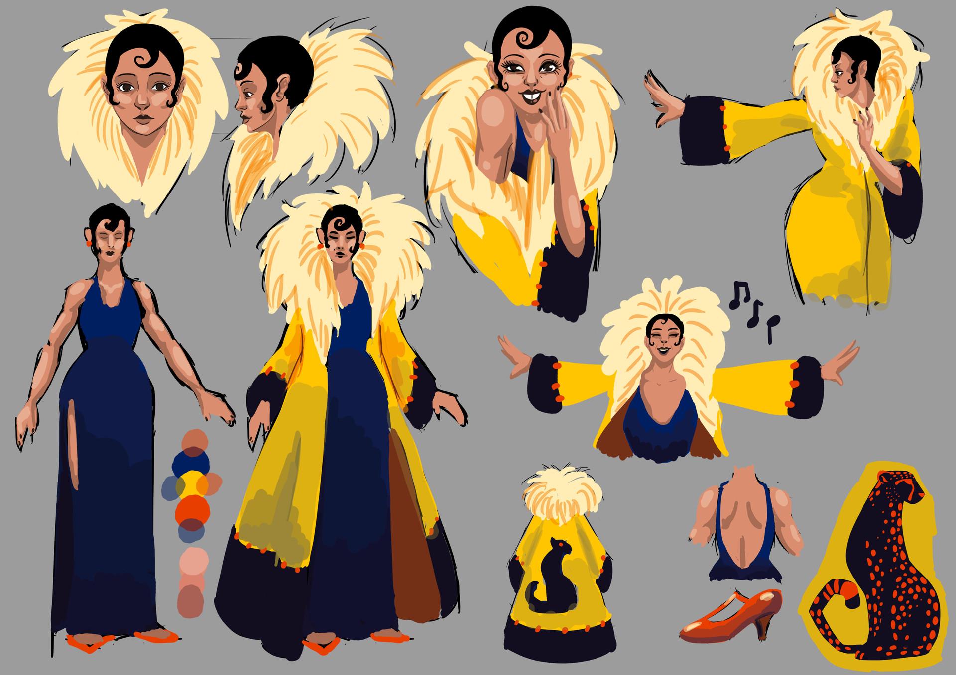 Helen o dell josie yellow