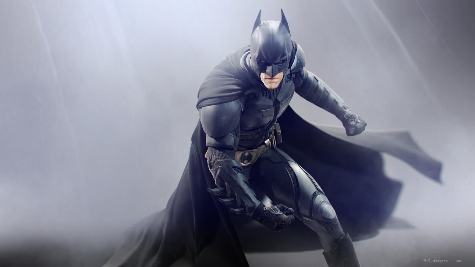 "Batman #1 - ""The Dark Knight Rises"". Final artwork"