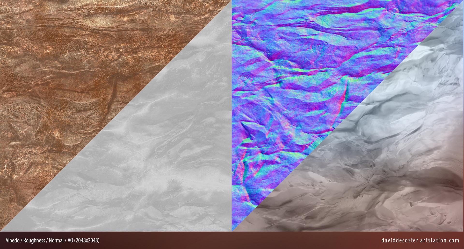 David decoster decoster cliff modular textures