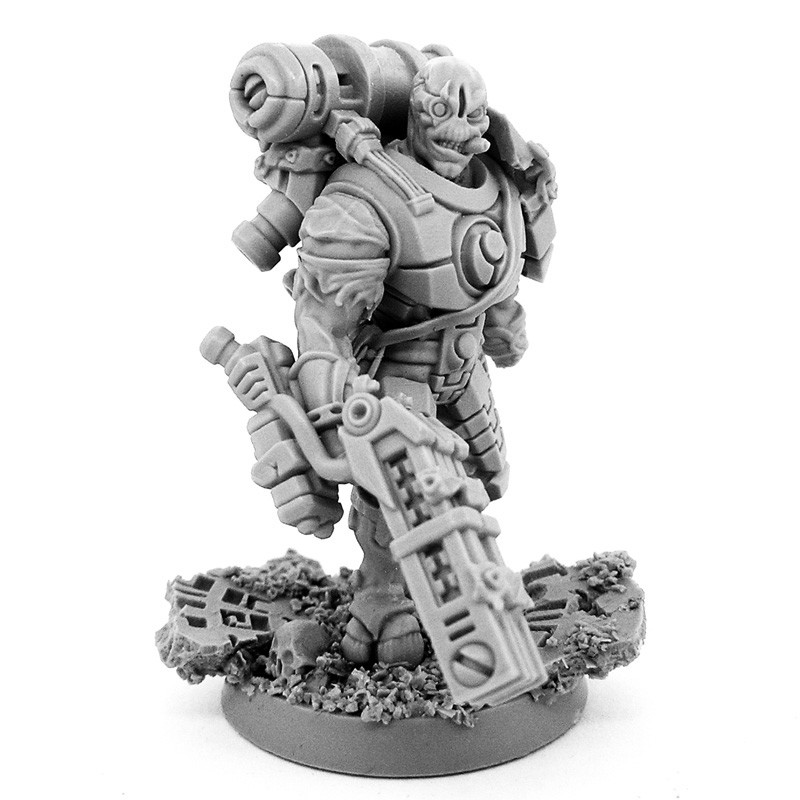 ArtStation - Big Shas 28mm-scale miniature  Resin cast from