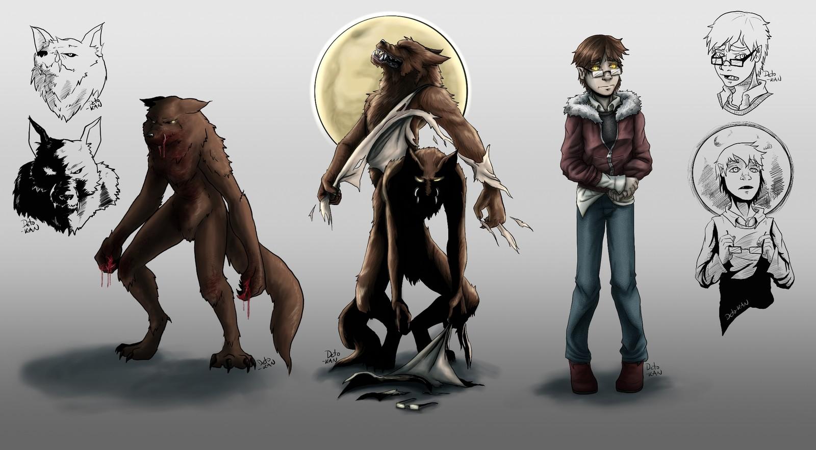 Werewolf Best Friend Challenge - Color