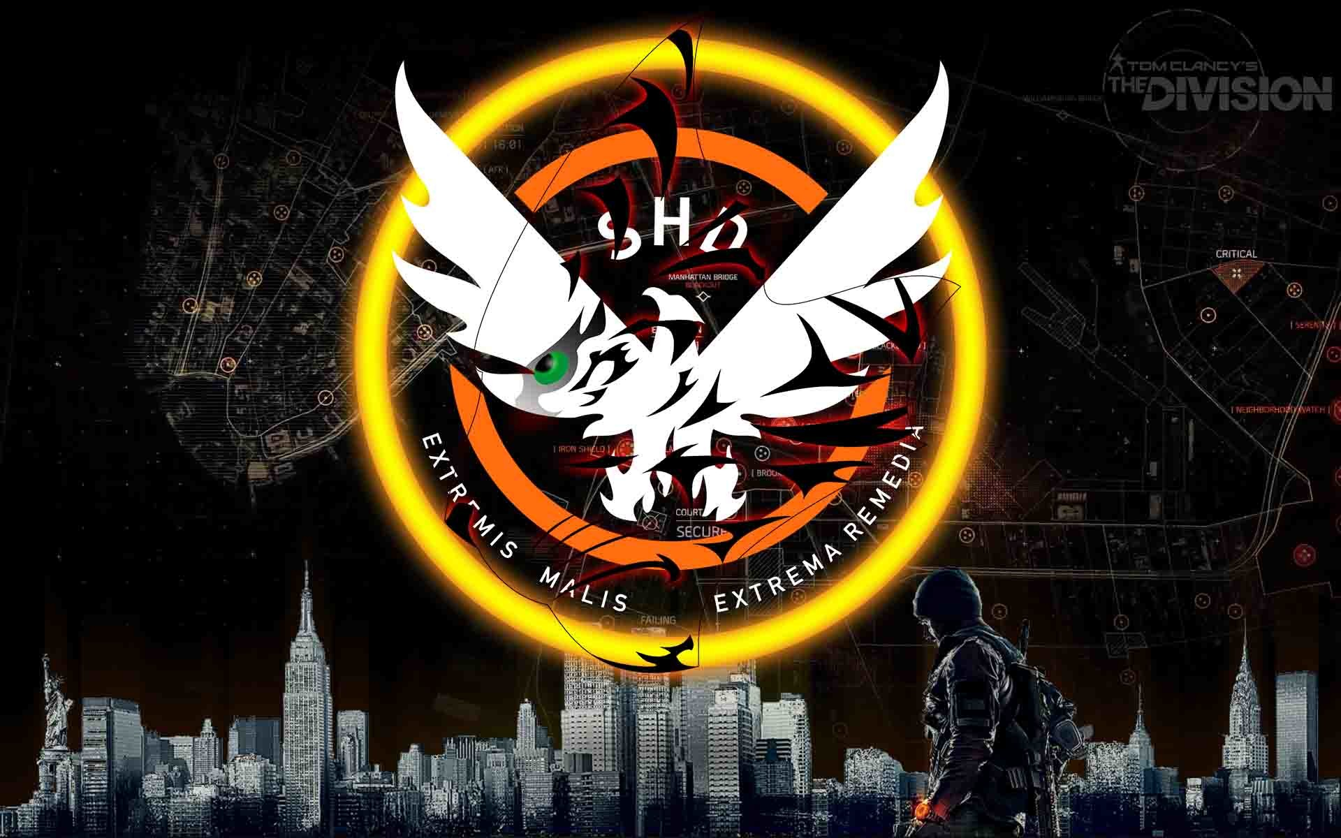 The Division New Logo, Black Beast