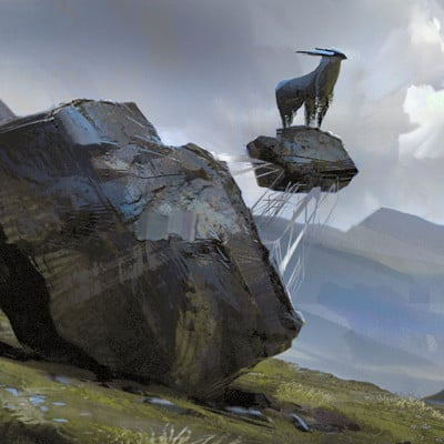 Jakub javora goat on the rock gif by javoraj d95jlzw