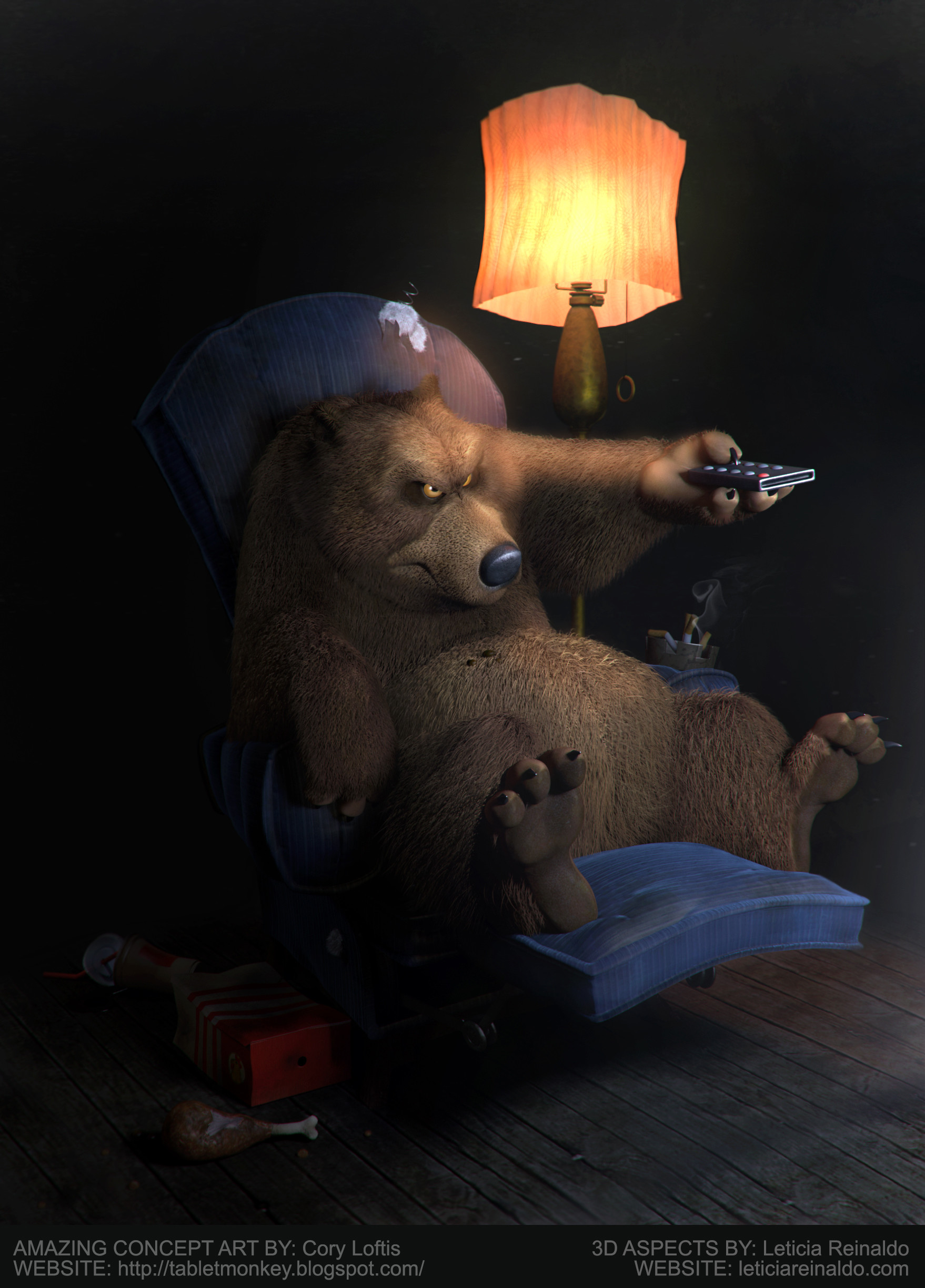 Leticia reinaldo gillett leticiar bear final credits