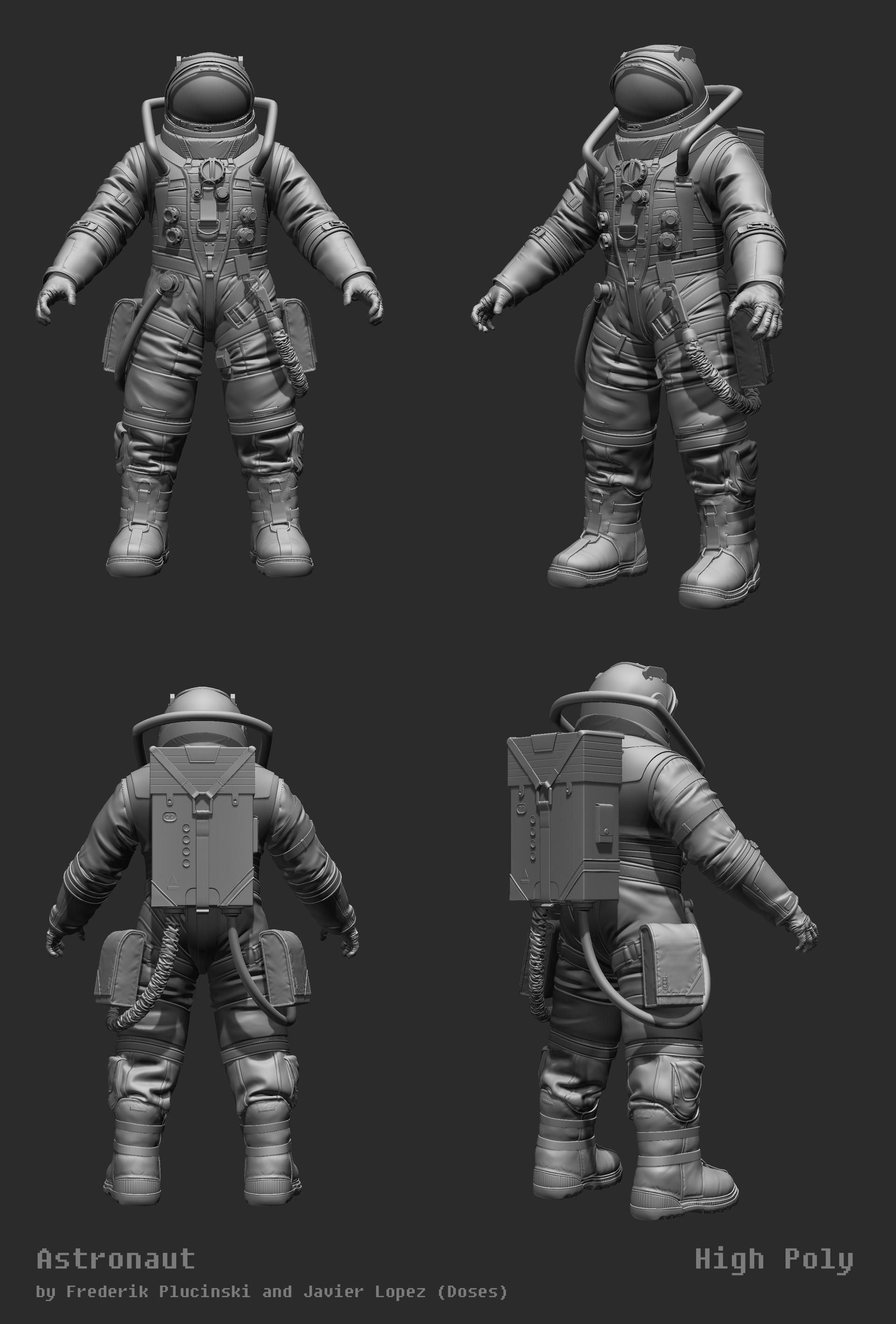 Frederik a plucinski astronaut high