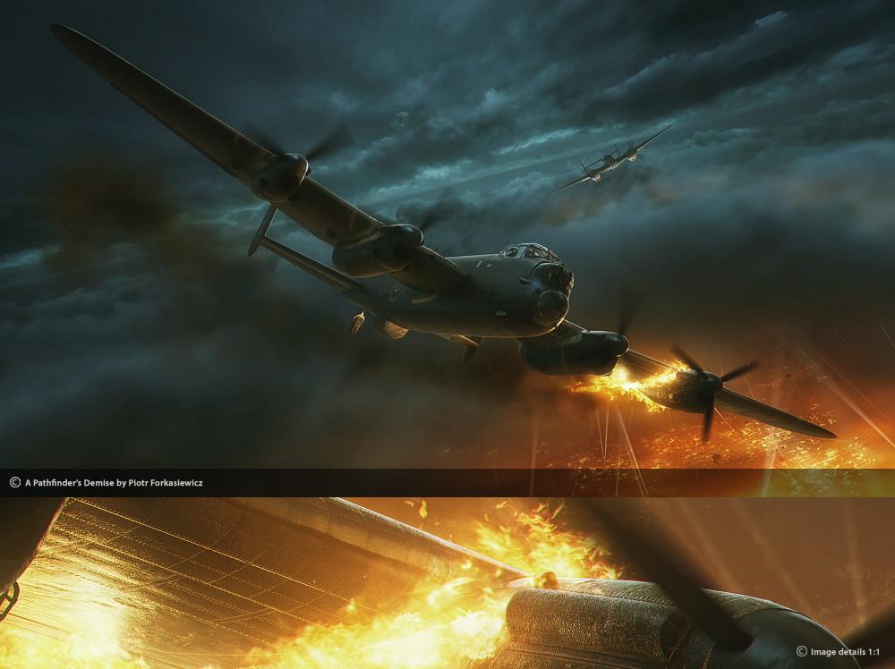 Piotr forkasiewicz aviation illustration lastpath