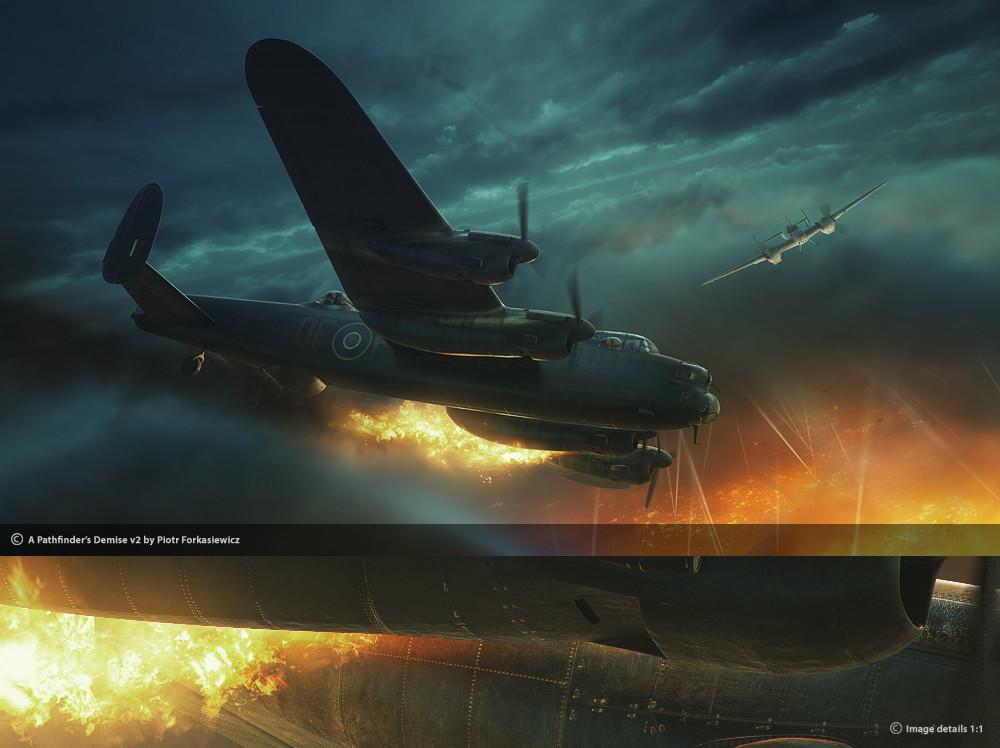 Piotr forkasiewicz aviation illustration lastpath2