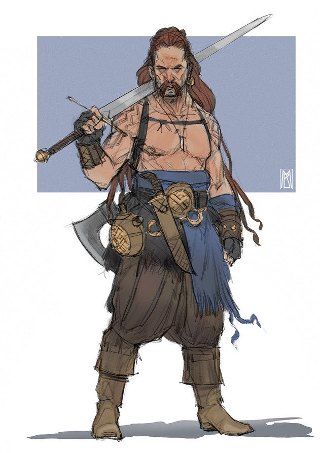 Norseman - color sketch